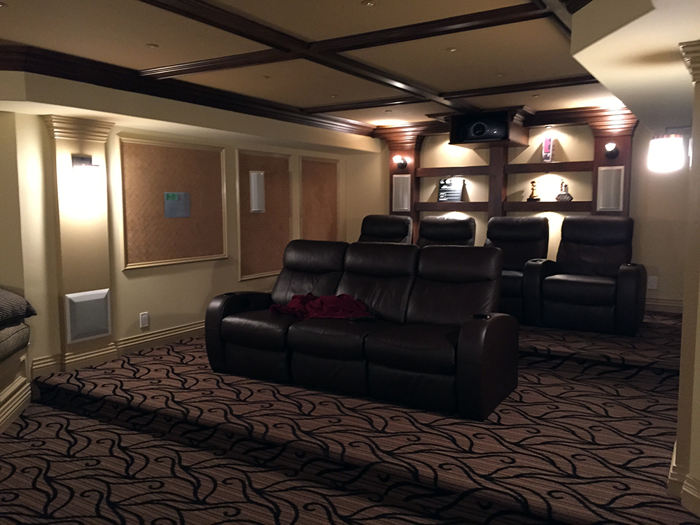 How to Set Up a Small Home Theater System - Home Theatre ...